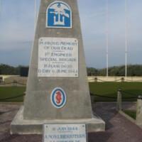 1st Engineer Special Brigade, USN at Utah Beach Normandy FR.JPG