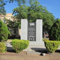 Kerr County TX Wars of 20th Century Memorial .JPG