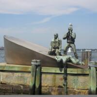 US Merchant Mariners Memorial NYC Manhattan3.JPG