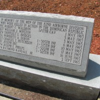 82nd Airborne Killed in Dominican Rep 1965 Memorial Ft Bragg NC.JPG
