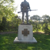 United Spanish War Veterans Memorial The Hiker ANC 2.JPG