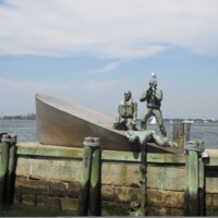 US Merchant Mariners Memorial NYC Manhattan2.JPG