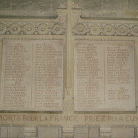 Bayeux Cathedral World War I Memorial France.JPG