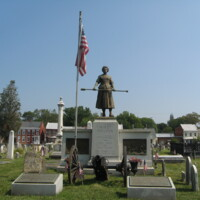 Molly Pitcher Memorial Carlisle Old Cemetery PA.JPG