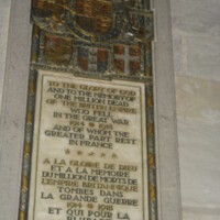 Bayeux Cathedral British Army WWI Memorial.JPG