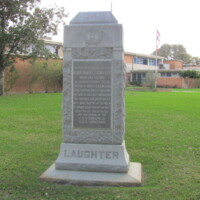 Irwin Laughter Incursion in Mexico 1916 Monument Jackson TX.JPG