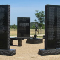 Iraq Afghanistan Fallen Heroes Central TX State Vets Cemetery1.JPG