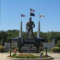 Kaufman County TX Veterans Park.JPG