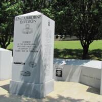 82nd Airborne DIV Global War On Terrorism Memorial Ft Bragg NC.JPG
