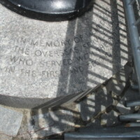 Red Cross WWI and WWII Memorial Flagpole Central Park NYC2.JPG