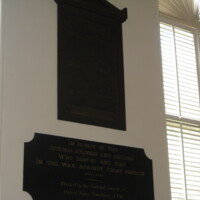 West Point USMA War of 1812 Plaque NY.JPG