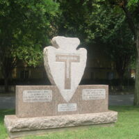 T-Patch 36 Division Ft Worth TX Monument .JPG