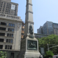 MAJ GEN Worth Monument MEX-AM NYC.JPG