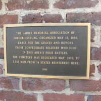 Fredericksburg VA  Confederate Cemetery.JPG
