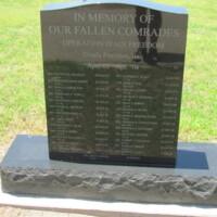 2nd BDE 4 Inf DIV Warhorse OIE Central Texas State Veterans Cemetery 4.JPG